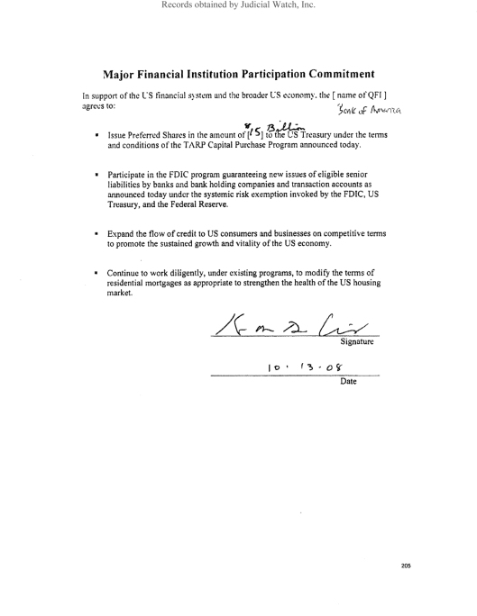 Treasury-ParticipationCommitment